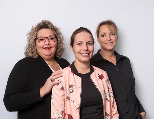 ReAttach therapeuten Sandy, Carlijn en Joyce